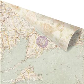 Papier scrapbooking Prima TBD St Tropez