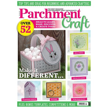 Parchment Craft magazine Pergamano mars avril 2021