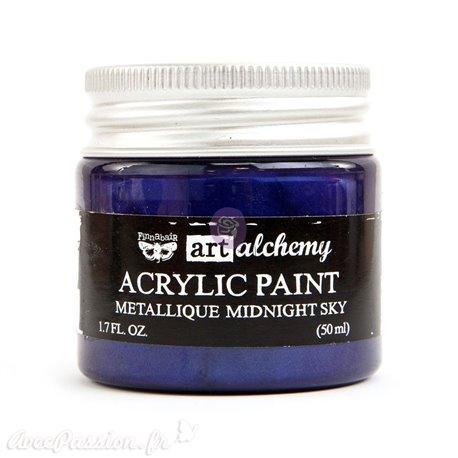 Peinture métallique Art Alchemy midnight sky