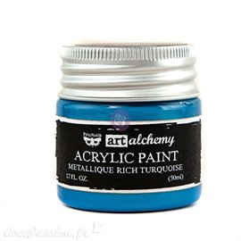 Peinture métallique Art Alchemy light blue