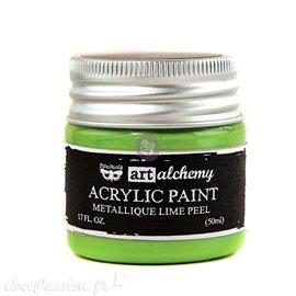 Peinture métallique Art Alchemy light green