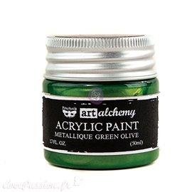 Peinture métallique Art Alchemy green