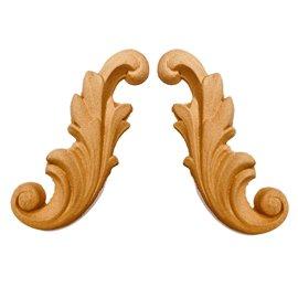 Moulure Woodubend Lot de 2 rouleaux décoratifs 12x5cm