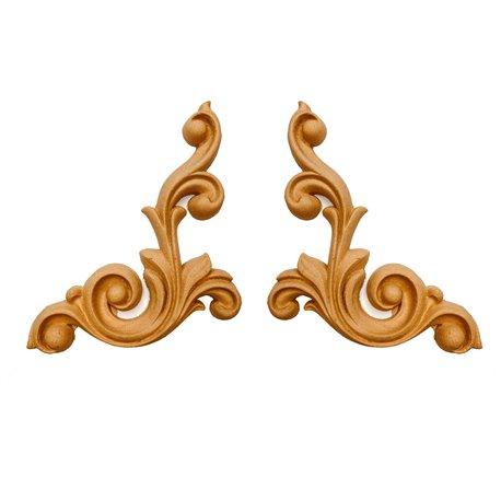 Moulure Woodubend Lot de 2 rouleaux décoratifs 18cmx14cm