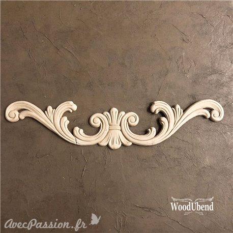 Moulure Woodubend Fronton 44.5x8.8cm
