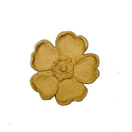 Moulure Woodubend Paquet de cinq fleurs 4cm