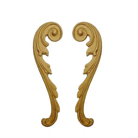 Moulure Woodubend Lot de 2 rouleaux décoratifs 20x5cm