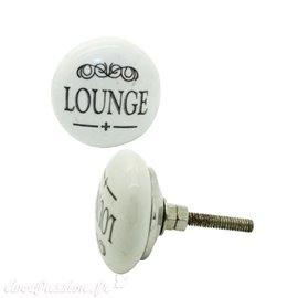 Bouton de porte céramique lounge