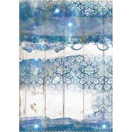 Papier de riz Stamperia A4 Romantic Sea Dream texture
