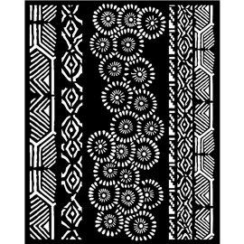 Pochoir décoratif Stamperia 20x25cm Amazonia tribales