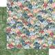 Papier scrapbooking assortiment Graphic 45 Blossom Paper Pad 24fe 20x20