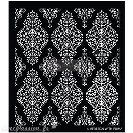 Pochoir décoratif Redesign Diamond Flourish 39x44cm 0.8mm
