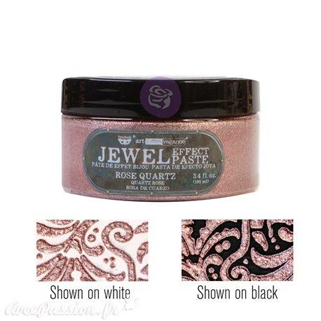 Pâte Jewel Texture Art Extravagance Rose Quartz
