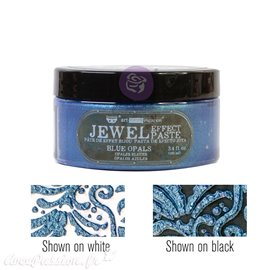 Pâte Jewel Texture Art Extravagance Blue Opals