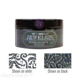 Pâte Jewel Texture Art Extravagance Sparkling Onyx