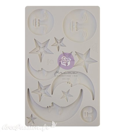 Moule silicone Finnabair Nocturnal Elements 12x20cm