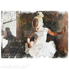 Papier de riz Redesign 84x59cm Dancer