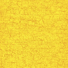 Feuilles décopatch petit craquelé jaune