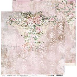 Papier scrapbooking réversible Craft O Clock 30x30 Love Me Forever - 03