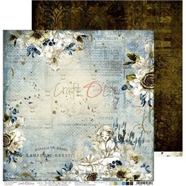 Papier scrapbooking réversible Craft O Clock 30x30 Lovely When You Smile - 04