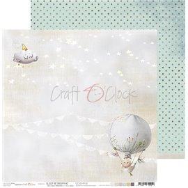 Papier scrapbooking réversible Craft O Clock 30x30 Sleep & Dream - 02
