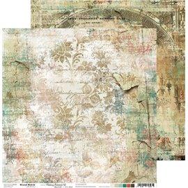 Papier scrapbooking réversible Craft O Clock 30x30 Fleeting Moments - 02