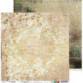 Papier scrapbooking réversible Craft O Clock 30x30 Fleeting Moments - 06