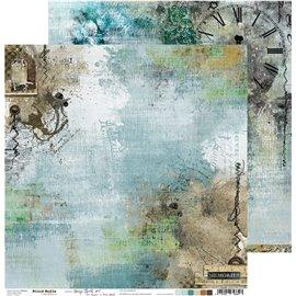 Papier scrapbooking réversible Craft O Clock 30x30 Hazy Street - 01