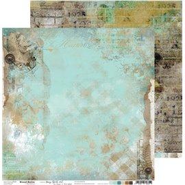 Papier scrapbooking réversible Craft O Clock 30x30 Hazy Street - 02