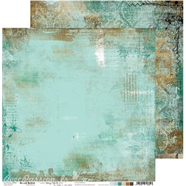 Papier scrapbooking réversible Craft O Clock 30x30 Hazy Street - 03