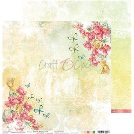 Papier scrapbooking réversible Craft O Clock 30x30 Warm Breeze - 01