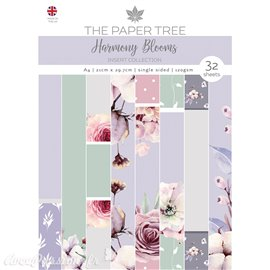 Papier scrapbooking Paper Boutique A4 Harmony Blooms insert collection 32fe