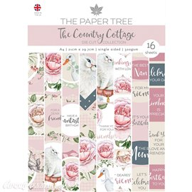 Papier scrapbooking Paper Boutique A4 The Country Cottage die cut collection 16fe