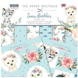 Papier scrapbooking Boutique Paper kit Snow Buddies
