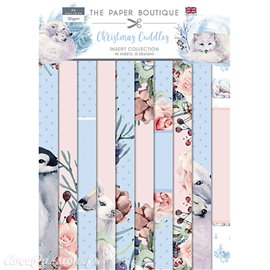 Papier scrapbooking Paper Boutique A4 Christmas Cuddles collection 40fe