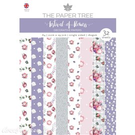 Papier scrapbooking Paper Boutique A4 Festival of Flowers decorative papers 32fe