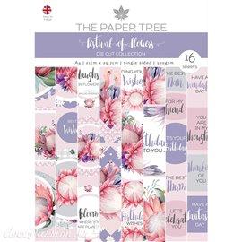 Papier scrapbooking Paper Boutique A4 Festival of Flowers die cut collection 16fe