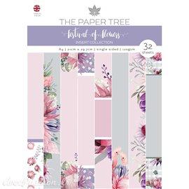 Papier scrapbooking Paper Boutique A4 Festival of Flowers insert collection 32fe