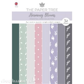 Papier scrapbooking Paper Boutique A4 Harmony Blooms essentiel cards collection 32fe