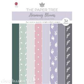 Papier scrapbooking Paper Boutique A4 Harmony Blooms essentiel cards collection 32fe