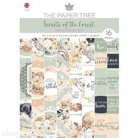 Papier scrapbooking Paper Boutique A4 Secrets of the Forest die cut collection 16fe