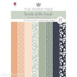 Papier scrapbooking Paper Boutique A4 Secrets of the Forest essentiel cards collection 32fe