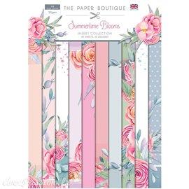 Papier scrapbooking Paper Boutique A4 Summertime Blooms collection 40fe