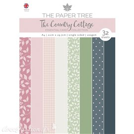 Papier scrapbooking Paper Boutique A4 The Country Cottage essentiel cards collection 32fe