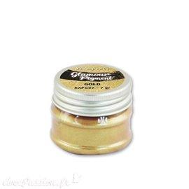 Pigment en poudre doré glamour Stamperia 7gr