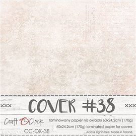 Couverture album scrapbooking Craft O Clock OK-38 60x24cm