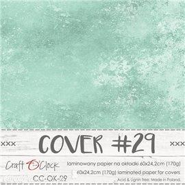 Couverture album scrapbooking Craft O Clock OK-29 60x24cm