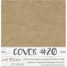 Couverture album scrapbooking Craft O Clock OK-20 60x24cm