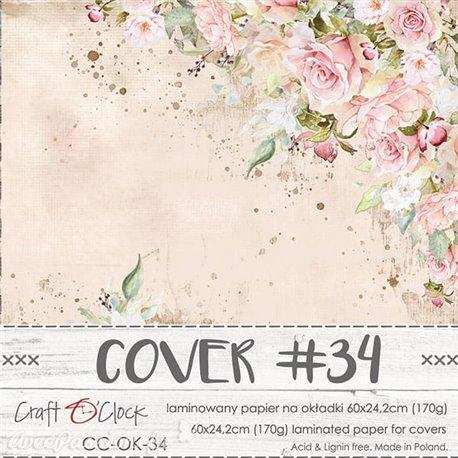 Couverture album scrapbooking Craft O Clock OK-34 60x24cm