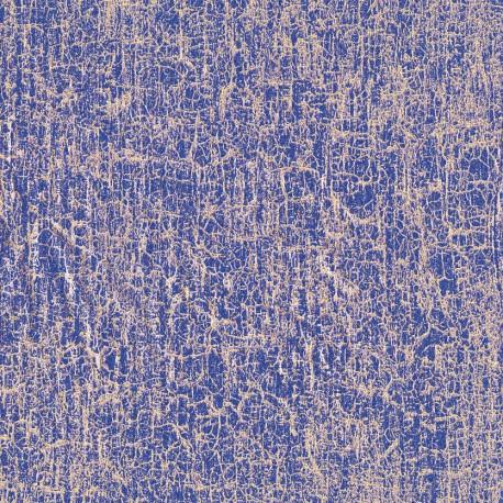3 Feuilles décopatch petit craquelé violet
